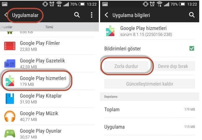 Google Play 927 Hatası Nasıl Çözülür ?
