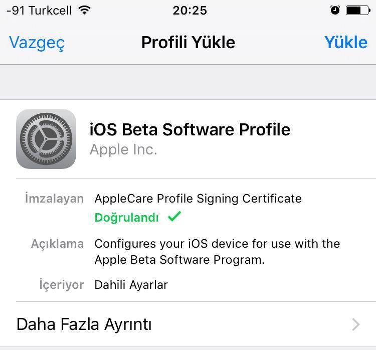 IOS Public Beta Sürümleri Nasıl Yüklenir ?