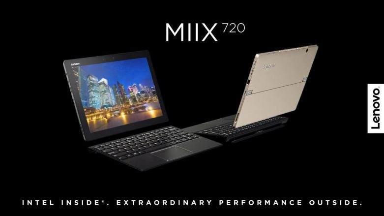 Lenovo Miix 720 Özellikleri