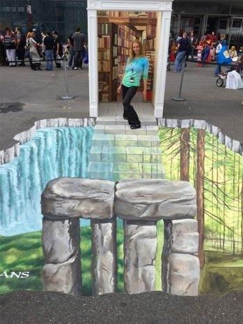 Muhteşem 3D Sokak Resimleri 12
