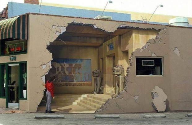 Muhteşem 3D Sokak Resimleri 13