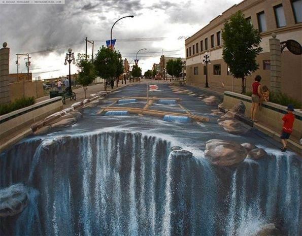 Muhteşem 3D Sokak Resimleri 7