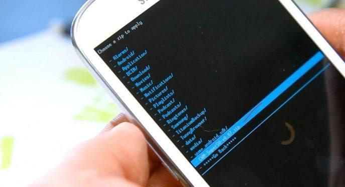 Samsung Telefona Rom Yükleme 4