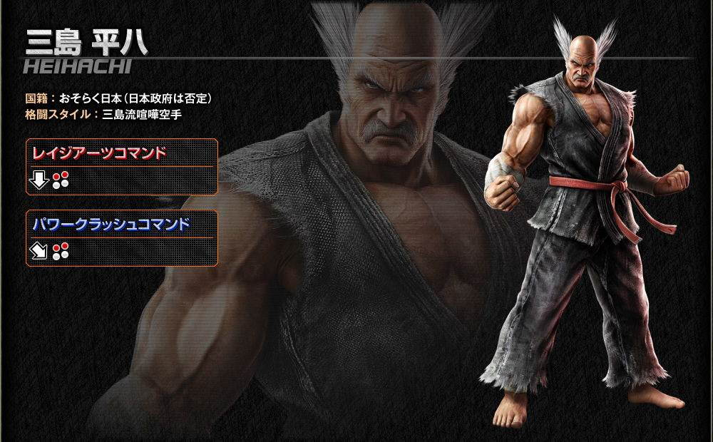 Tekken 7 Karakterleri 25
