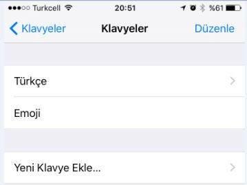 iPhone Klavye Ekleme Nasıl Yapılır ?