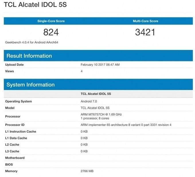 Alcatel Idol 5S Özellikleri Nelerdir