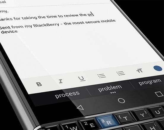 BlackBerry KeyOne Android Akıllı Telefon Özellikleri Nelerdir ? 2