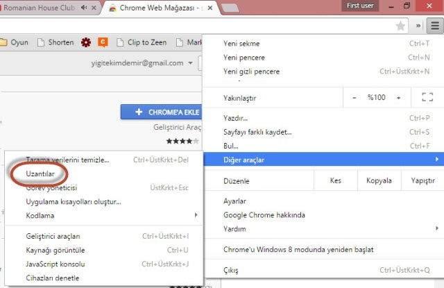 Chrome Uzantıları Nasıl Kurulur ve Nasıl Kaldırılır ?