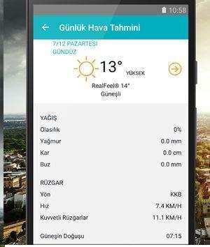 En İyi Android Hava Durumu Uygulamaları