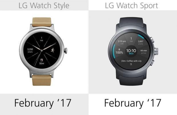 LG Watch Style ile LG Watch Sport Karşılaştırması 2
