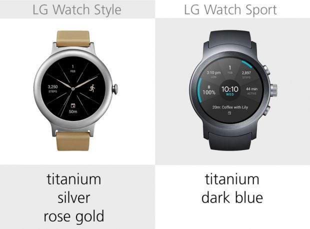 LG Watch Style ile LG Watch Sport Karşılaştırması 13