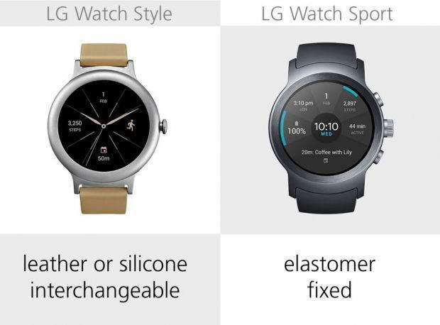 LG Watch Style ile LG Watch Sport Karşılaştırması 14