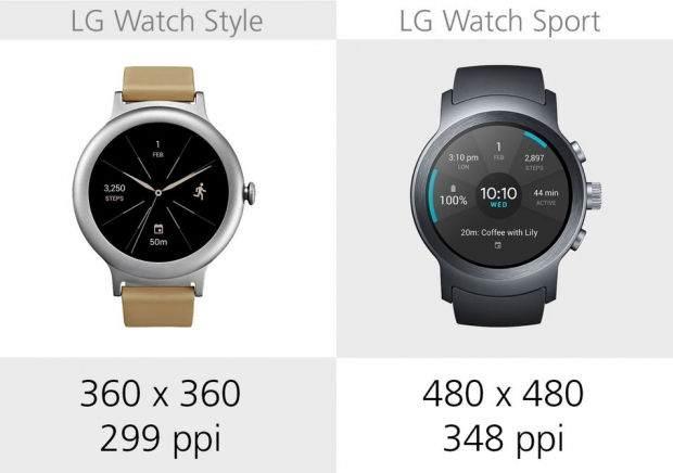 LG Watch Style ile LG Watch Sport Karşılaştırması 16