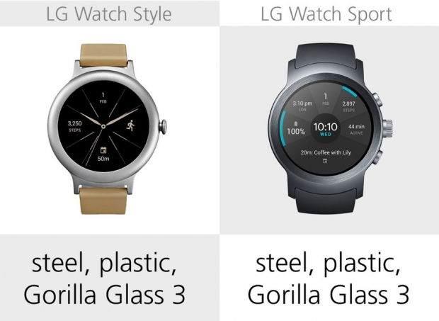 LG Watch Style ile LG Watch Sport Karşılaştırması 18