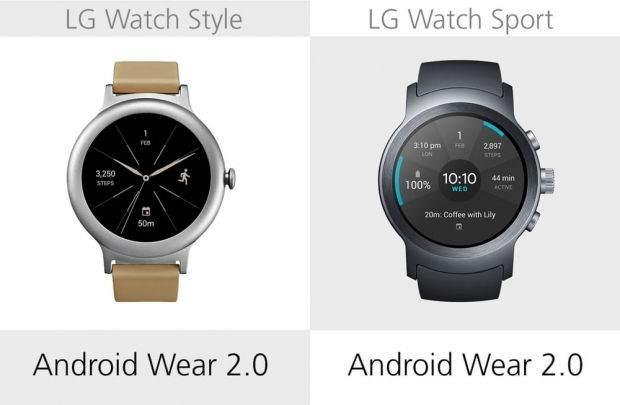LG Watch Style ile LG Watch Sport Karşılaştırması 3