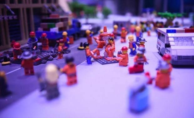 Legolarla Yapılmış Muhteşem Eserler 3