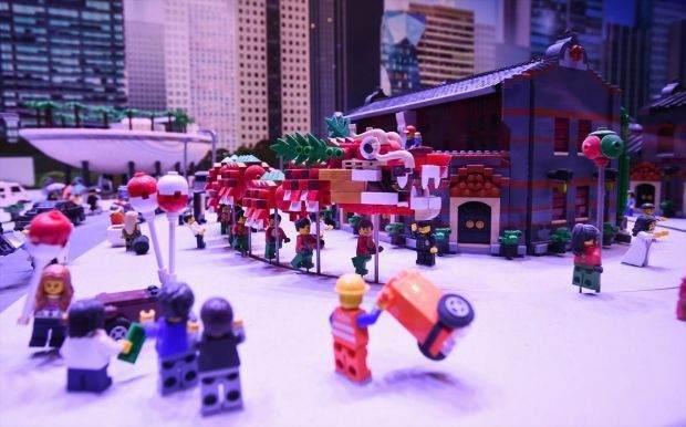 Legolarla Yapılmış Muhteşem Eserler 14