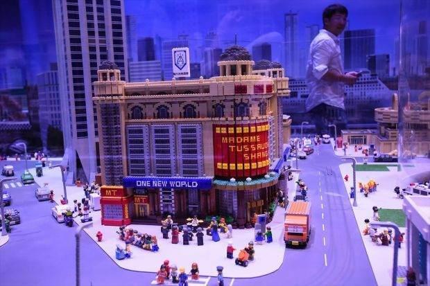 Legolarla Yapılmış Muhteşem Eserler 1