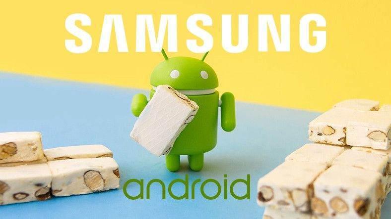 Samsung Android Nougat Güncelleme Takvimi