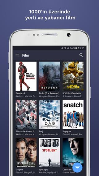 Telefonda Film ve Dizi İzleyebileceğiniz Uygulamalar