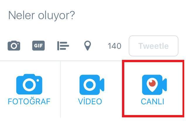 Twitter Canlı Yayını Nasıl Yapılır ?