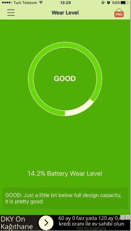 iPhone Batarya Ömrü Nasıl Öğrenilir ?