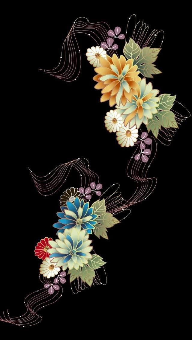 Çiçekli iPhone Duvar Kağıtları 10
