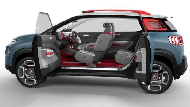 Citroen C-Aircross Concept Özellikleri 4