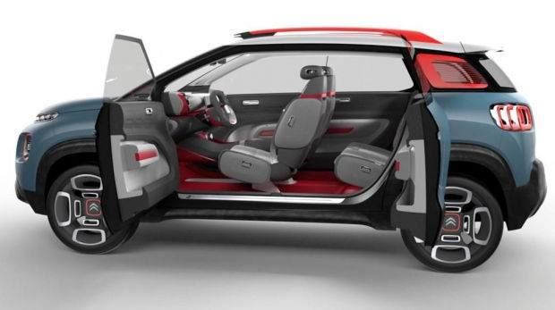 Citroen C-Aircross Concept Özellikleri 8