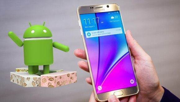 Galaxy Note 5 Android Nougat Güncellemesi 3