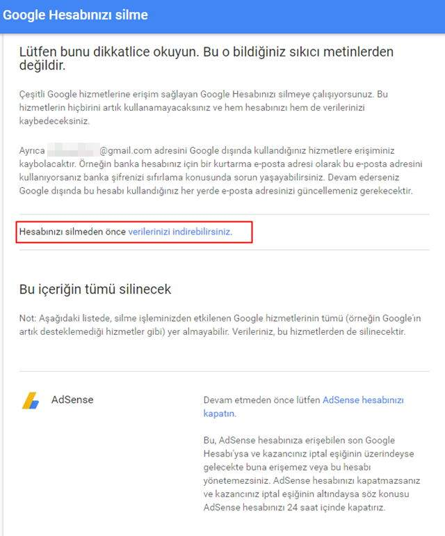 Google Hesabı Nasıl Silinir