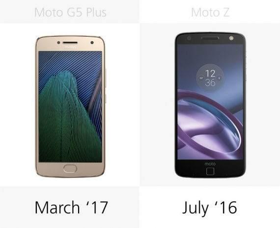 Moto G5 Plus vs Moto Z Karşılaştırması 2
