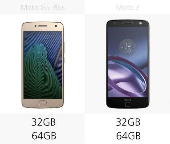 Moto G5 Plus vs Moto Z Karşılaştırması 4