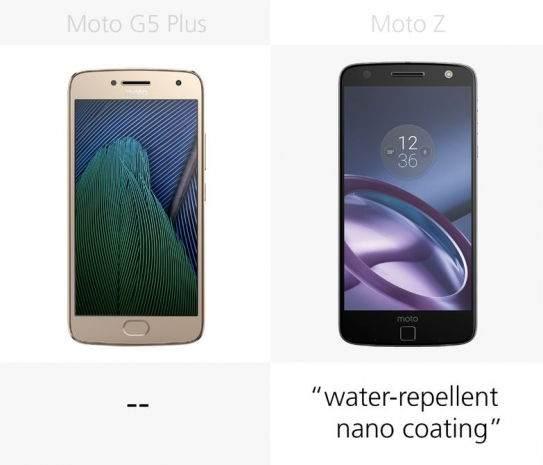 Moto G5 Plus vs Moto Z Karşılaştırması 5