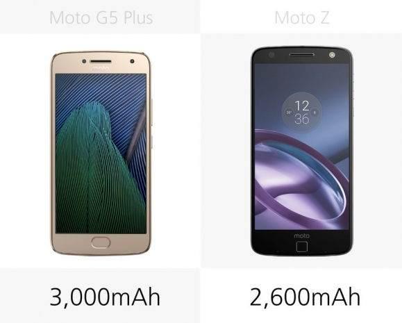 Moto G5 Plus vs Moto Z Karşılaştırması 9