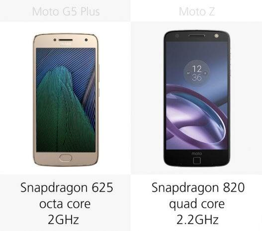 Moto G5 Plus vs Moto Z Karşılaştırması 13