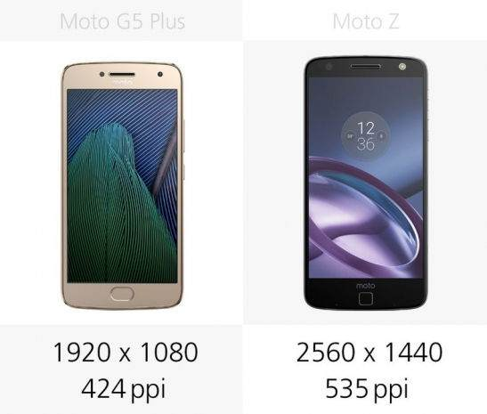 Moto G5 Plus vs Moto Z Karşılaştırması 15