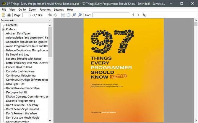 PDF Dosylarını Açmak için Adobe Reader Alternatifi 4 Program