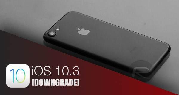 iOS 10.3'ten iOS 10.2.1'e Dönme (IOS 10.3 Downgrade) Nasıl Yapılır? 1