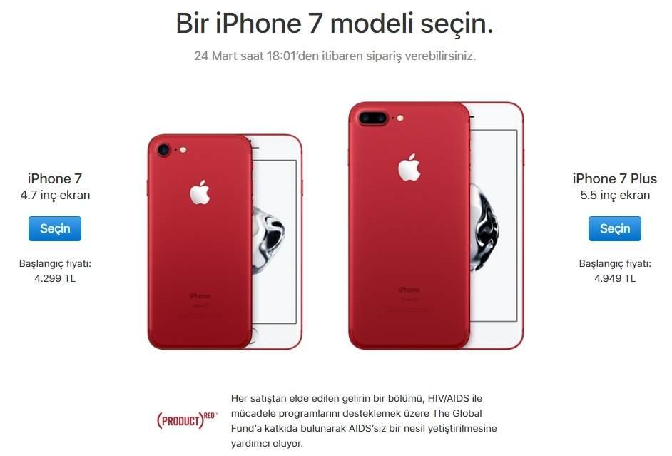 Kırmızı iPhone 7 Çıkış Tarihi ve Fiyatı 4