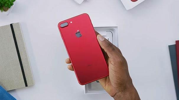 Kırmızı iPhone 7 Plus Kutu Açılış Videosu