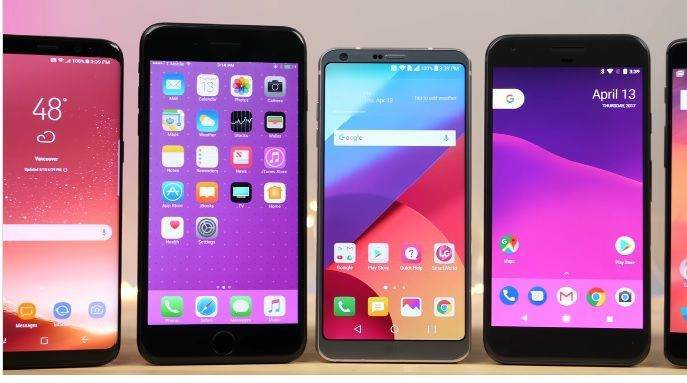 5 Devin (Galaxy S8, iPhone 7 Plus, LG G6, Google Pixel, OnePlus 3T) Hız Karşılaştırması