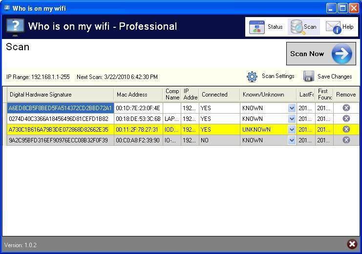 Kablosuz İnternetinizi İzinsiz Kullananları Bulun