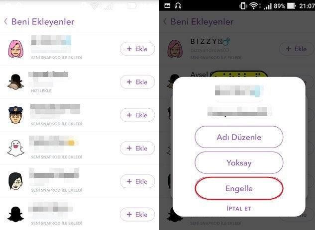 8 Maddede Snapchat Güvenliği