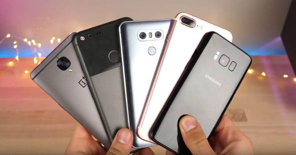 Essential Phone vs Galaxy S8+- iPhone 7 Plus - LG G6 Karşılaştırması