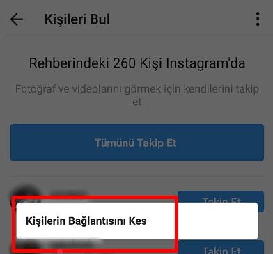 Instagram Önerileri Nasıl Kapatılır