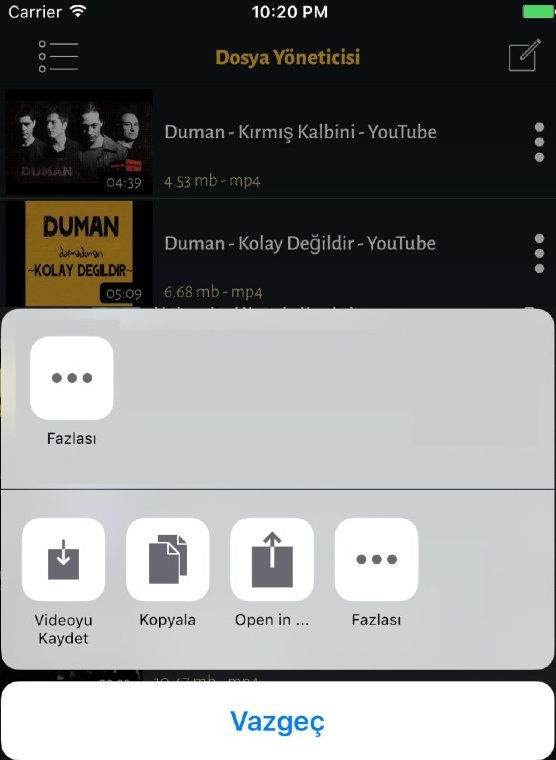 iPhone'a Video, Müzik Film İndirme Yöntemi