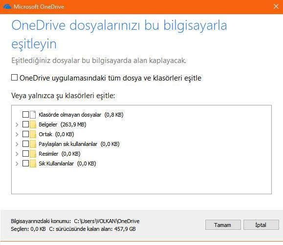 7 Adımda Windows 10 Fazladan Depolama Alanı Kazanma