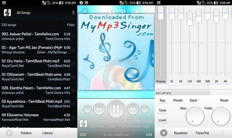 En iyi 10 Android Müzik Çalar Uygulaması