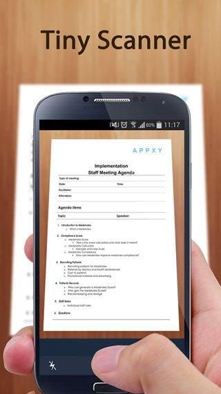 En iyi Android Tarama Uygulamaları